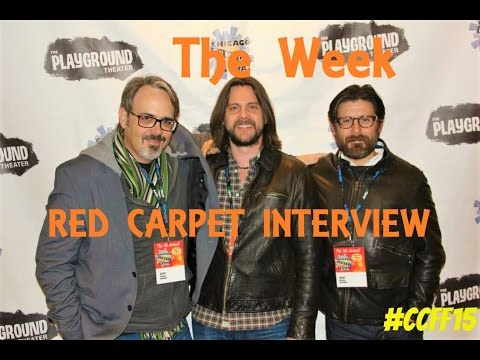Red Carpet , The Week Rick Gomez  Chicago Comedy Film Festival