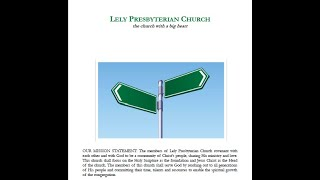 Lely Church Service  - 11-08-2020 - Choose Now