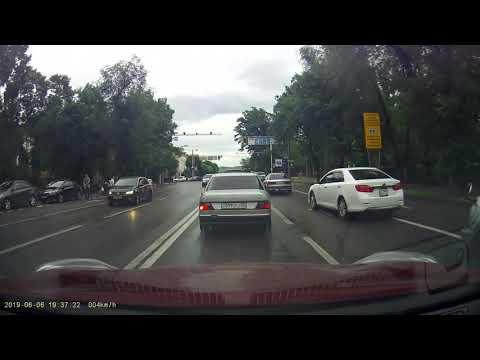 Алматы. Дороги нашего города. Июнь