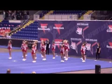 Pop Warner Regionals Cheer Comp.Springfield Ma  Nov 15,2014