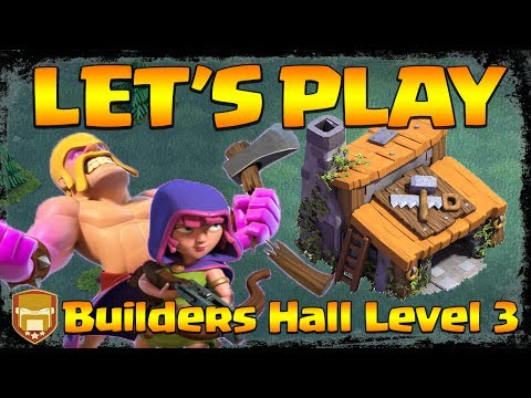 Let's Play Builders Hall Level 3 | YouTuber Race for Cups | Clash of Clans