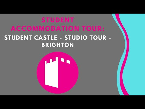 Student Castle Studio Tour - Student Accommodation Tour Brighton