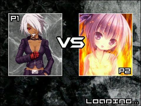 Winmugen: K-Core vs. Tomoka (both 1p)