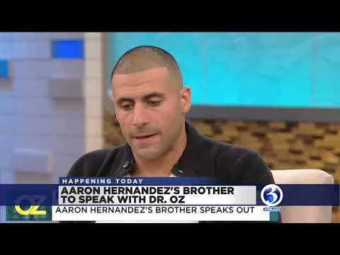 VIDEO: Aaron Hernandez's brother speaks to Dr. Oz