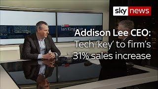 CEO: Tech is behind Addison Lee's growth abroad