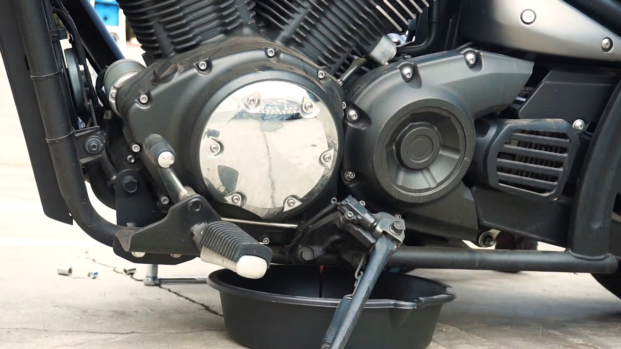 motorcycle oil change yamaha stryker youtube stryker engine diagram [ 1280 x 720 Pixel ]