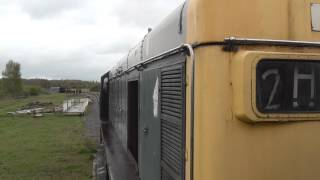 Great Central Railway Nottingham 20154 wheel slips on the way to Ruddington