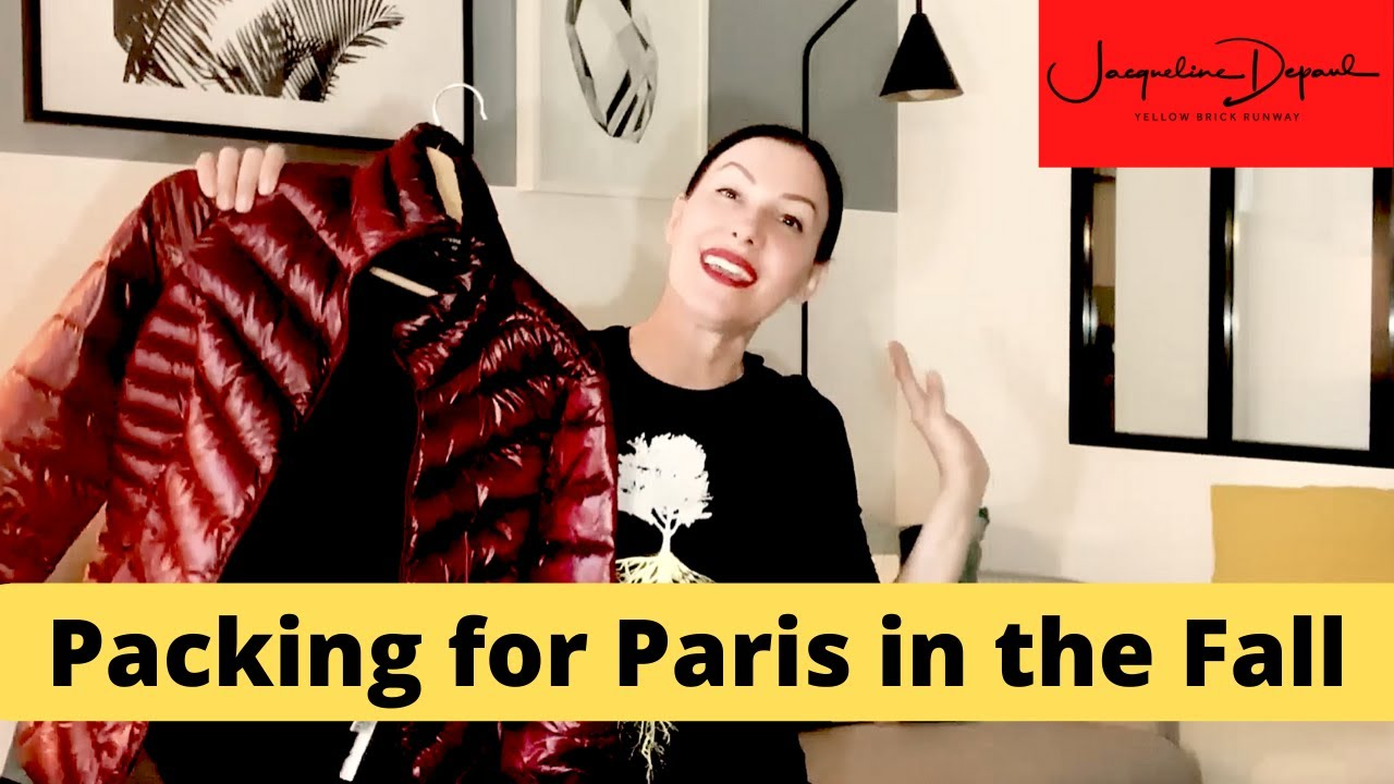 How to Pack for Paris in the Fall | Paris Packing Tips for Fall | Yellow Brick Runway