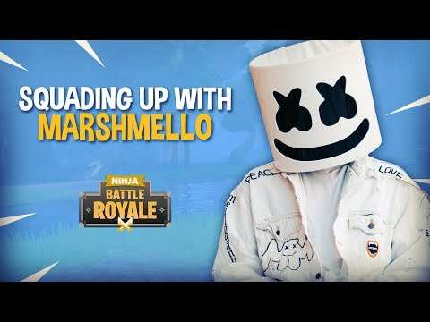 Squading Up With Marshmello!! - Fortnite Battle Royale Gameplay - Ninja