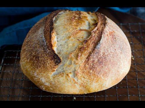 500g Overnight Sourdough Bread Recipe