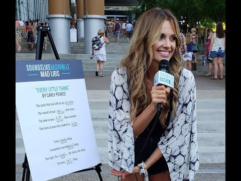 Carly Pearce Plays 'Every Little Thing' Mad Libs at the 2018 CMA Music Festival