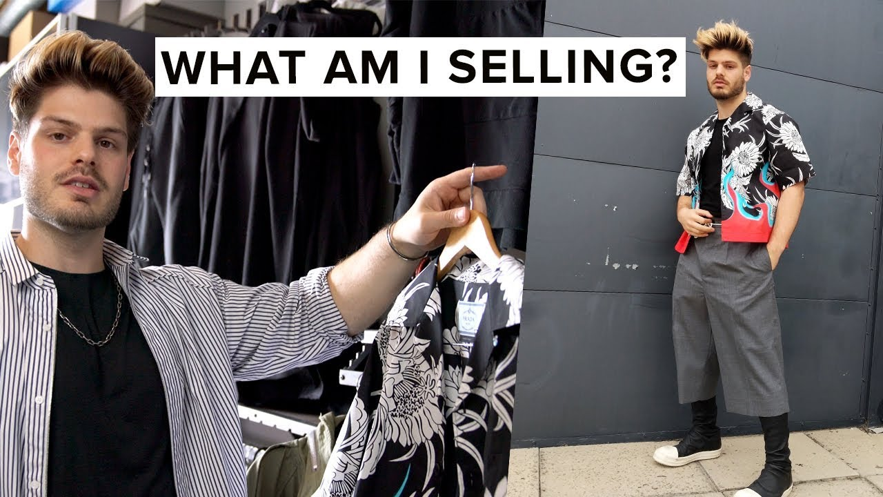 Where To Sell My Designer Clothes | Selling My Designer Clothing Updated Closet Tour Youtube