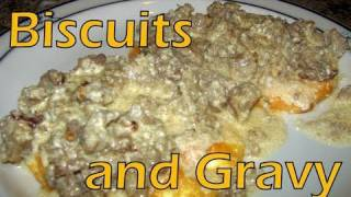 Atkins Diet Recipes: Low Carb Biscuits And Gravy (if)