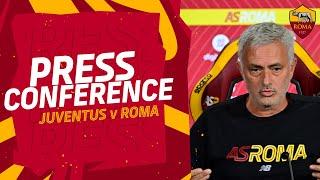 CONFERENZA STAMPA | José Mourinho alla vigilia di Juventus-Roma