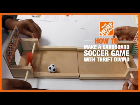 diy-cardboard-soccer-game-with-@thrift-diving-|-the-home-depot-kids-workshops