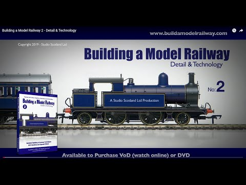Building a Model Railway 2 - Detail & Technology (TRAILER)