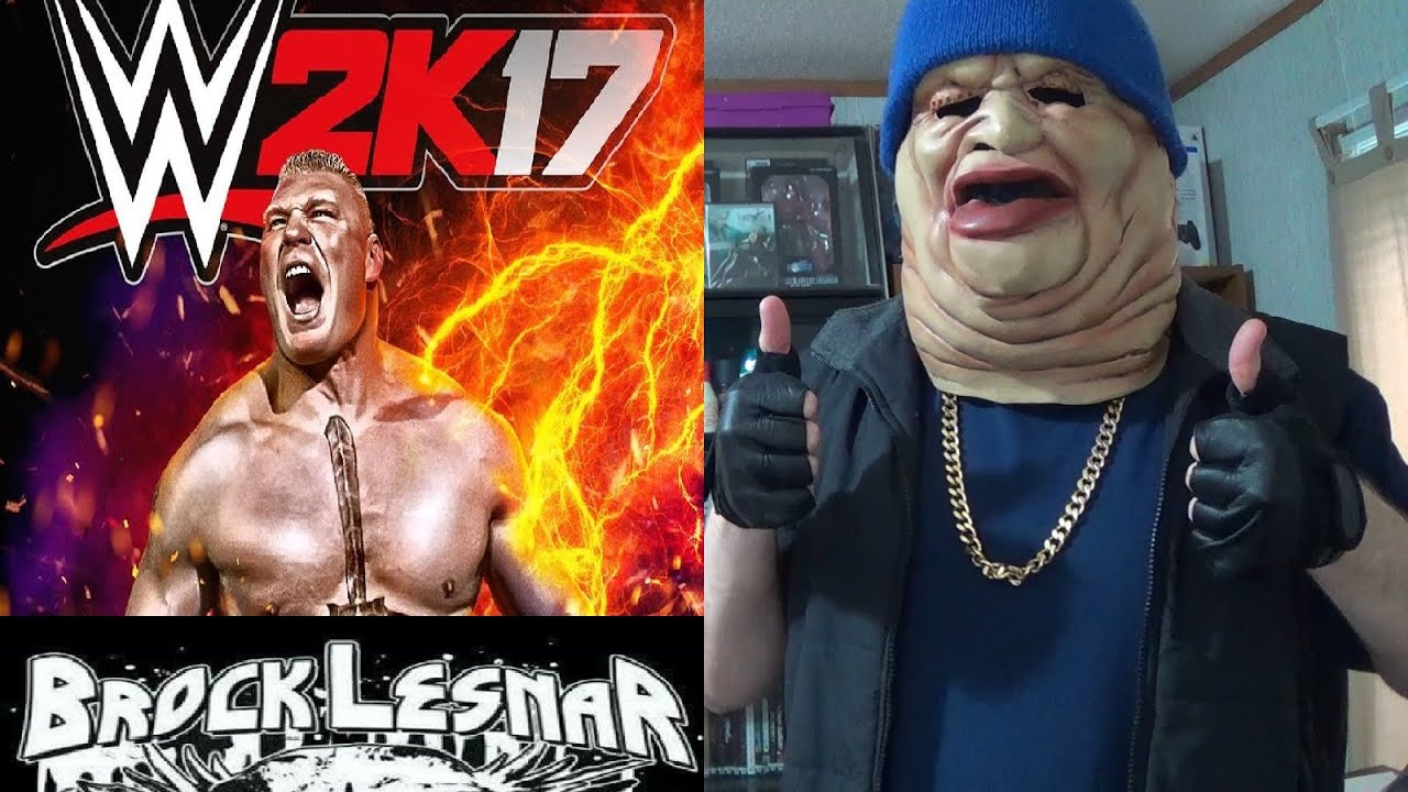 Brock Lesnar Featured On The Cover Of Wwe 2k17 Youtube