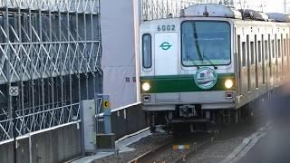 【東京メトロ】 千代田線6000系 最後 綾瀬車両基地への回送