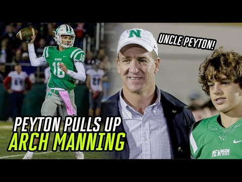 Peyton Manning Watches Arch Manning DOMINATE With 6 Touchdowns! Freshman Quarterback Is TOUGH 😱