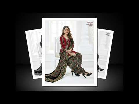 010496ac3e Shree Ganesh Pranjul Priyanka Vol 13 Wholesale Churidar Online - YouTube