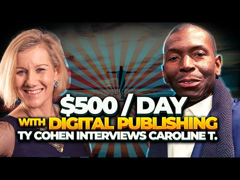 She's Making $500 A Day with Digital Publishing And Wants To Talk to You 1 On 1 To Reveal How