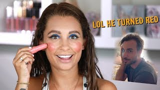 I DID MY MAKEUP HORRIBLY TO SEE HOW MY BOYFRIEND WOULD REACT