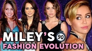 8 Years of Miley Cyrus Style in 90 Seconds!