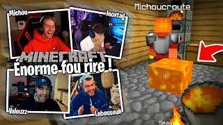 J'ai jamais autant rigolé avec la Team Croûton ! Minecraft #1