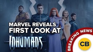 BREAKING: Marvel Reveals 1st Look at Inhumans!