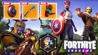 🔴 FORTNITE X ENDGAME! - COLLECTING ALL INFINITY STONES AND GAUNTLET!
