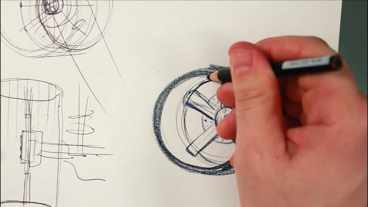 How To Draw A Car In  Point Perspective