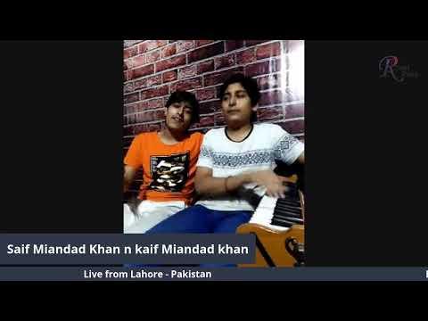 Download Live with Saif Miandad Khan & Kaif Miandad Khan from Pakistan