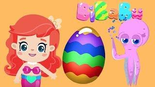 Cartoons für kinder: Bi-Ba-Bu, die kleine meerjungfrau und das magische ei überraschung