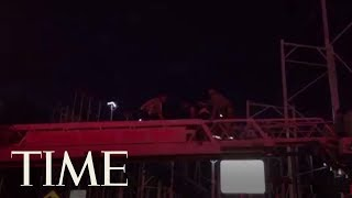 Two Riders Thrown More Than 30 Feet To The Ground As Roller Coaster Derails In Daytona Beach | TIME