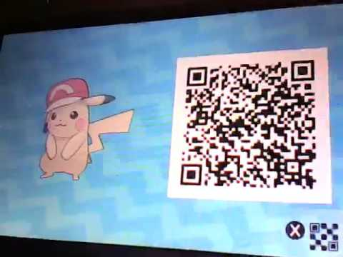 Kalos Cap Pikachu Qr Code Youtube