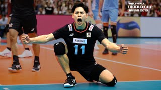 Yuji Nishida 西田 有志 - So Talented and Dangerous at the Net!   Men's Volleyball World Cup 2019
