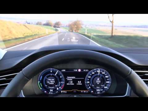 2017 VW Passat GTE Variant Plug-in Hybrid - Start-up & Test drive (POV)