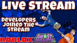 Ghost Simulator Developers JD Dylan & Coven JOINED Our Free Godly Pet Giveaway Stream !!!