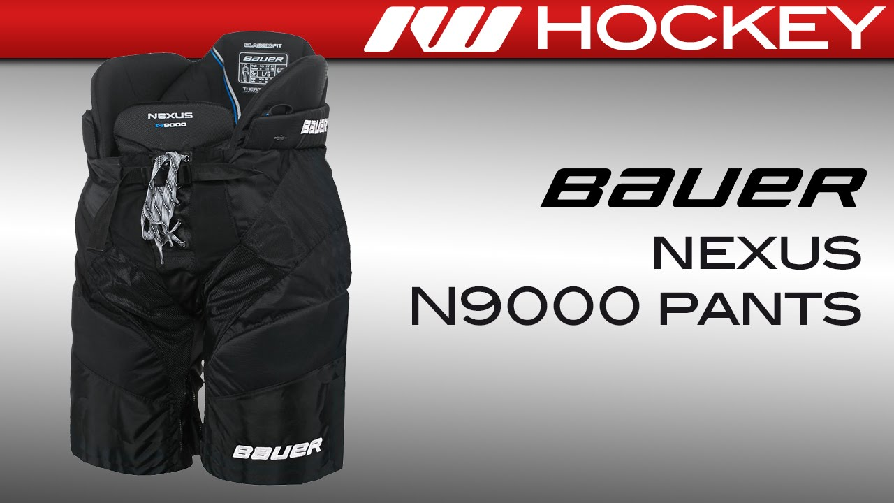 41fc47961a5 Bauer Nexus N9000 Ice Hockey Pants Review - YouTube