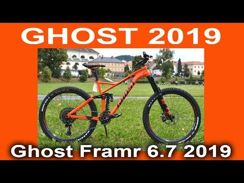 "Ghost Framr 6.7 27.5"" ORN/BLK 2019 - just a FANTASTIC - review from velomoda"
