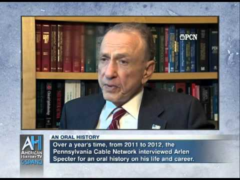 Oral Histories Preview: Arlen Specter on Robert Bork & Clarence Thomas Confirmation Hearings