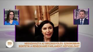 Megszavazta az országgyűlés: szigorúbban büntetik a rendzavaró parlamenti képviselőket