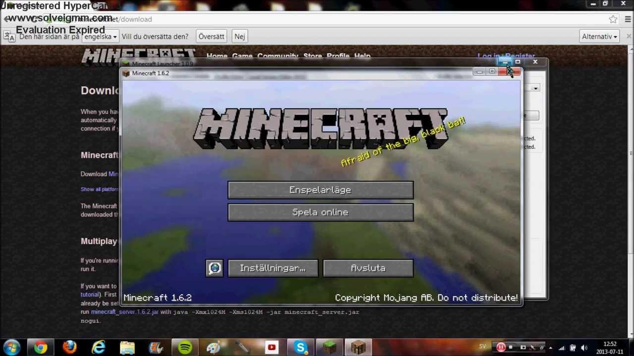 hur kan man spela minecraft gratis