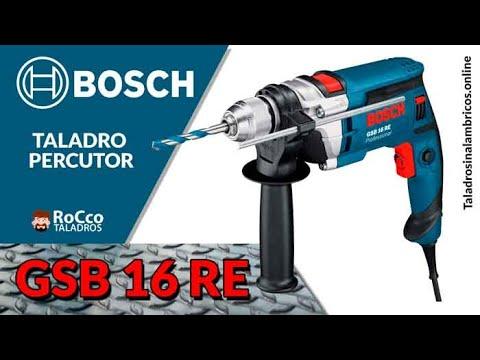 BOSCH GSB 16 RE ✔️ Taladro Percutor Profesional «