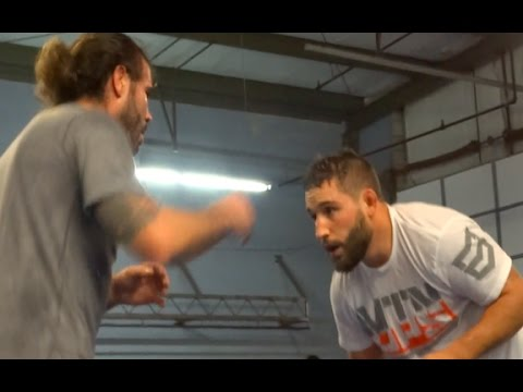 CHAD MENDES WRESTLES CLAY GUIDA!!!