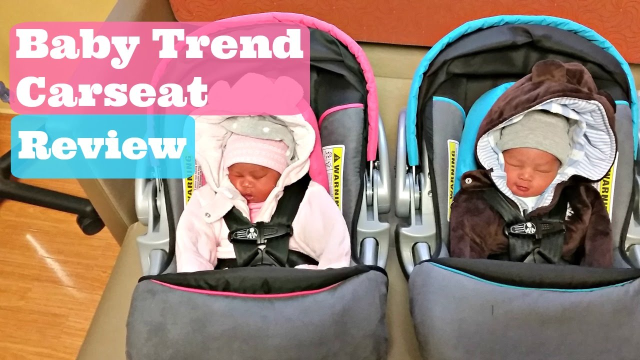 Baby Trend Flex Loc Infant Carseat Review