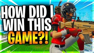 """Was This Skill Or Did I Just Get Lucky?? """"Fortnite Squad Scrim Victory Royale"""""""