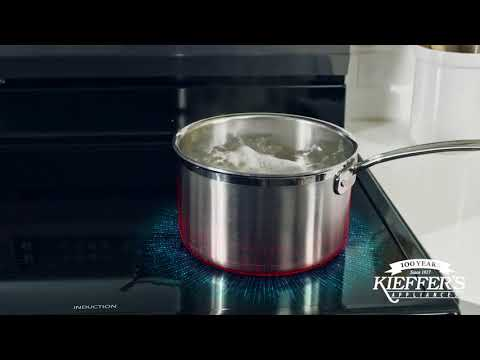 Frigidaire - Easy-to-Clean Induction Cooktop