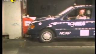 VW Polo 1997 Euro NCAP crash test