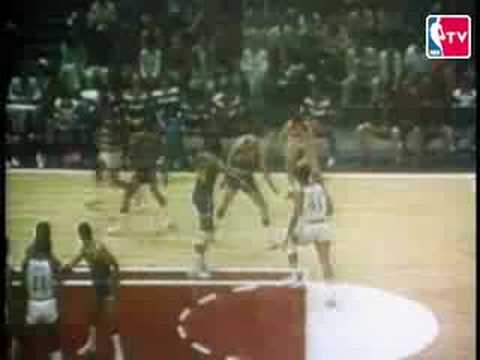 1974 - 1975 NBA Finals feature